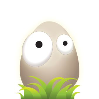 Plug It! game - good egg illustration