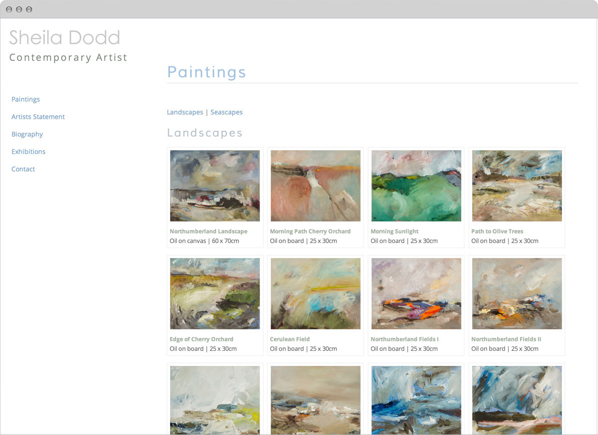 Sheila Dodd website
