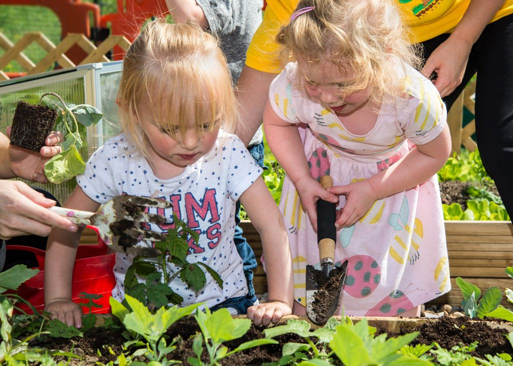 Woodlands Day Nursery Garden