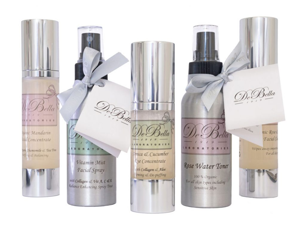 De Bella natural skincare products