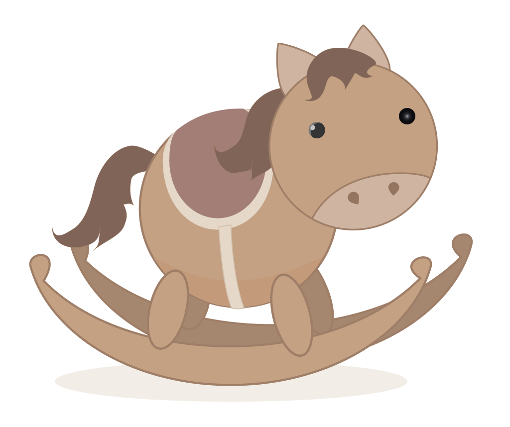 Rocking Horse illustration