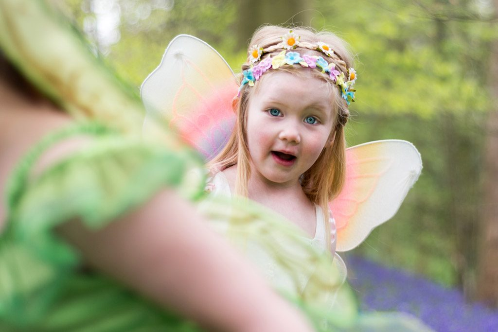 girl as fairy