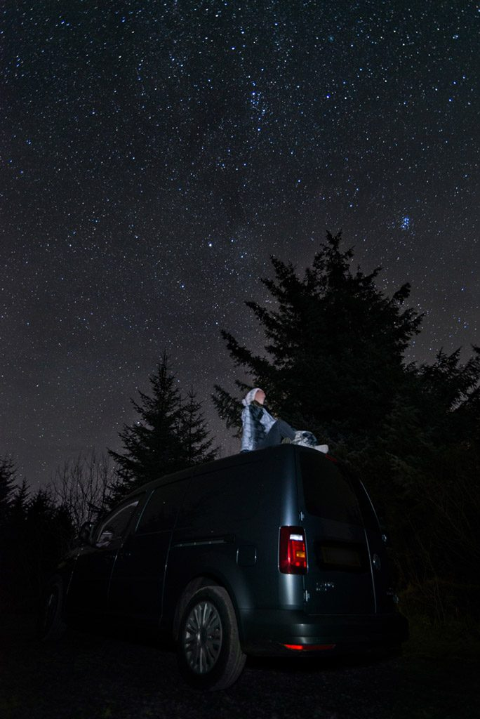 stargazing at Milkyway, Kielder