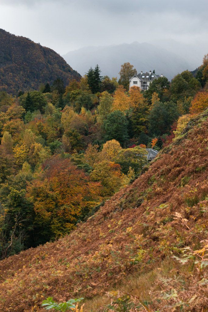 Autumn on Catbells, Derwentwater